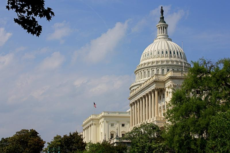View of the U.S. Capitol from the street in Washington, D.C. (Zoe Rudisill/Flickr)