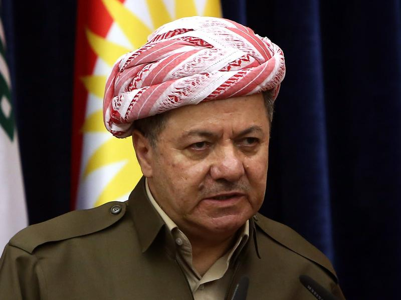 At a news conference last month, Iraqi Kurdish leader Massoud Barzani said there was no going back on autonomous Kurdish rule in the oil center of Kirkuk