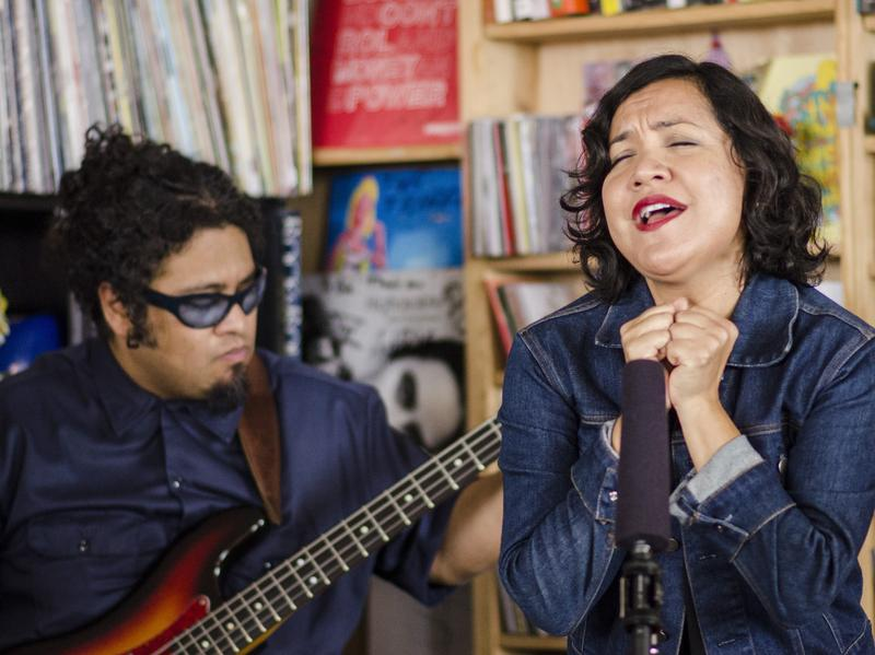 Tiny Desk Concert with Quetzal on June 27, 2014.