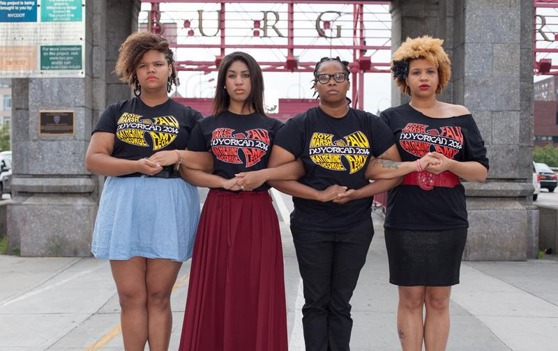 The slam poetry team from the Nuyorican Poet's Cafe in New York, NY is the first all-female team to represent the tri-state area at the National Poetry Slam (Greenelight Photography/Courtesy).