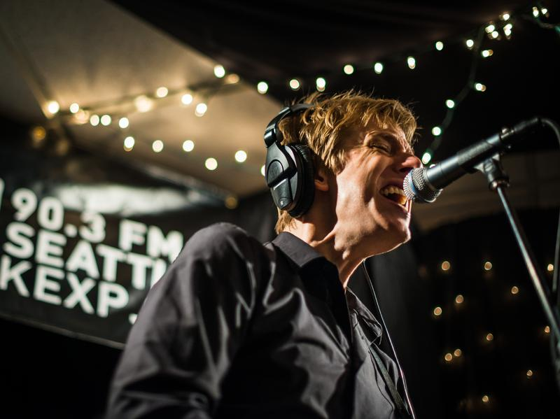 Spoon at KEXP on July 24, 2014.