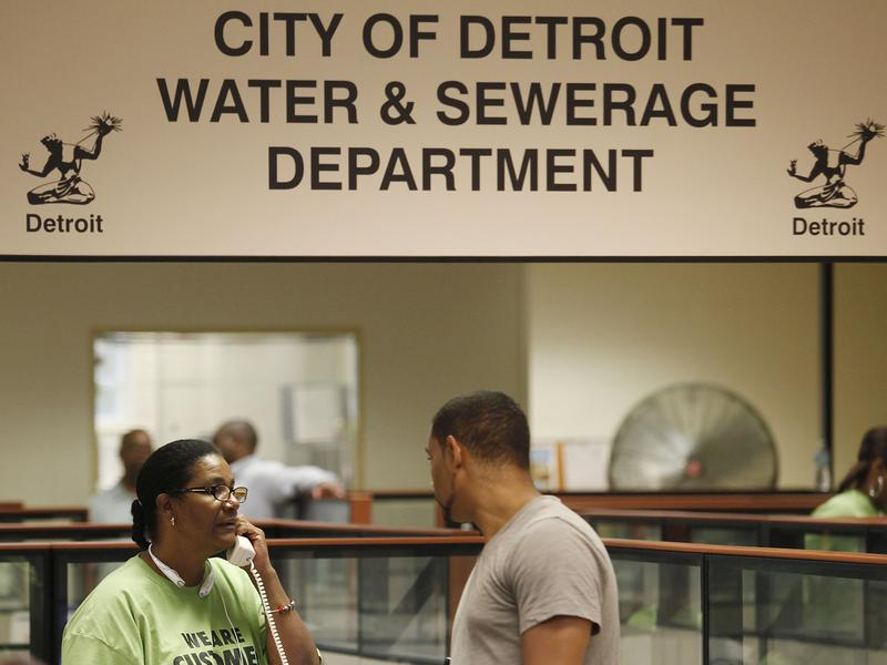The Water and Sewerage Department in Detroit, Michigan