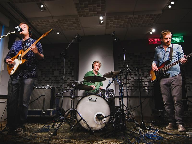 The Clientele performed live for WAMU's Bandwidth.