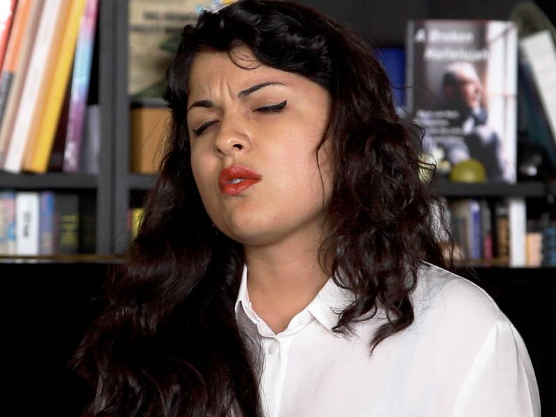 Irene Diaz performs a Tiny Desk Concert.