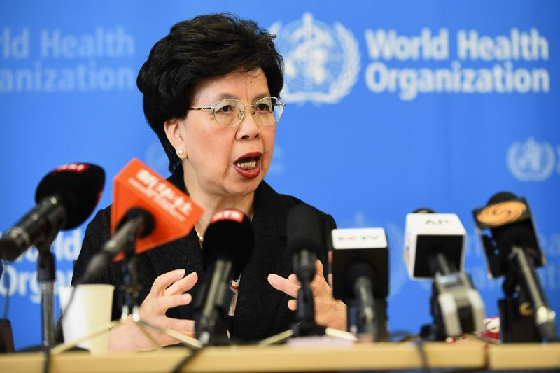 "World Health Organization (WHO) Director-General Dr. Margaret Chan on August 8 in Geneva gives a press conference following a two-day emergency meeting on west Africa's Ebola epidemic, as the death toll nears 1,000.  The UN health body said its emergency committee, which includes global medical and policy experts, had declared the deadliest known outbreak of the Ebola virus a ""public health emergency of international concern."" (Alain Grosclaude/AFP/Getty Images)"