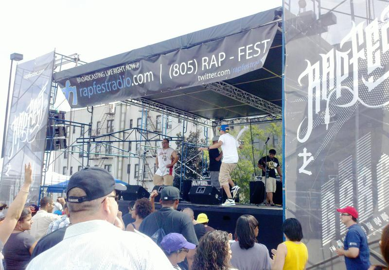 Rap Fest is a Christian rap outreach festival in the Bronx. This is its 21st year. (Steven Sanchez)