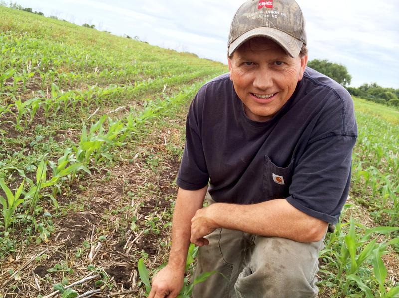 Dan Selvig says wetter conditions helped convince his family to shift their plantings to corn.