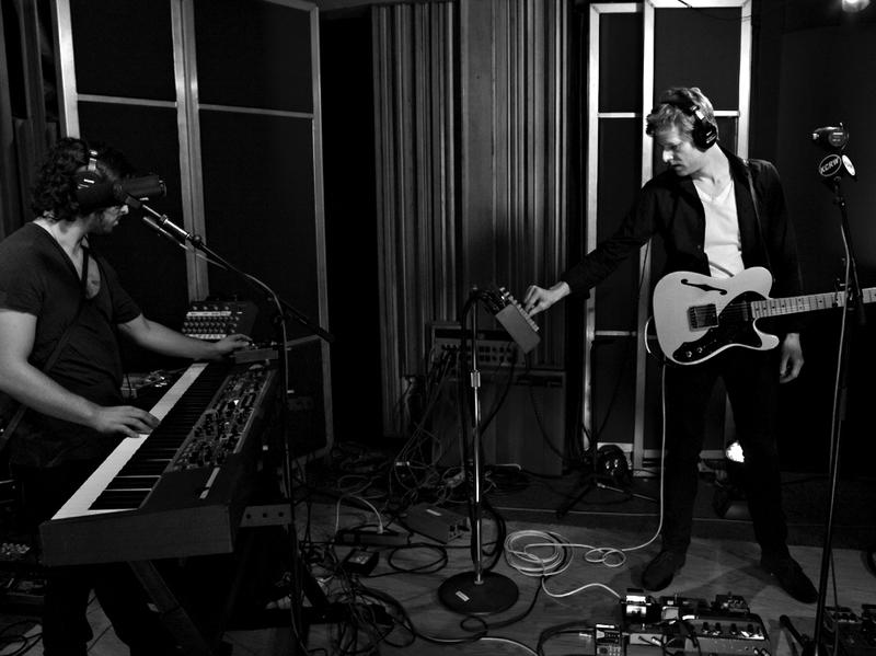 Spoon performs live at KCRW's studios.