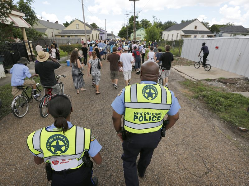 After a hiring freeze caused by a budget crisis, New Orleans is now struggling to replace the roughly 100 officers a year it loses to retirements and officers quitting.