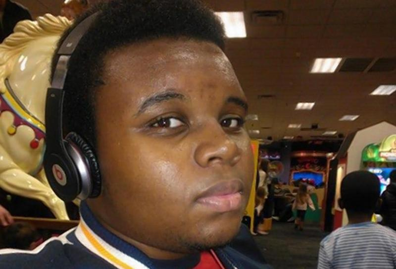 Michael Brown is pictured in this Facebook photo dated January 5, 2013. (Big'mike Jr Brown/Facebook)