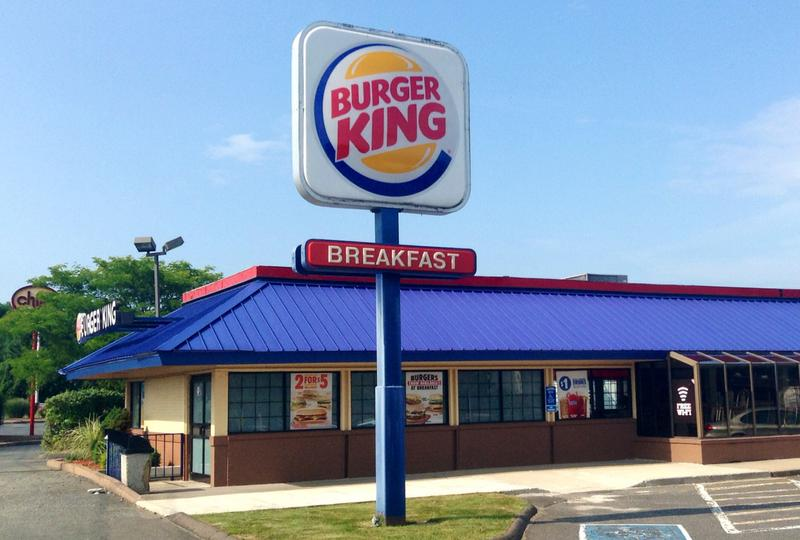 Burger King is looking to buy Canada's coffee and doughnut chain Tim Hortons. (Mike Mozart/Flickr)