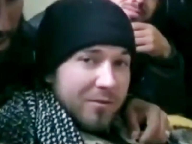 American Eric Harroun threatened Bashar Assad on Facebook and YouTube. He spent six weeks fighting with a rebel army, a journey that did not end well for him.
