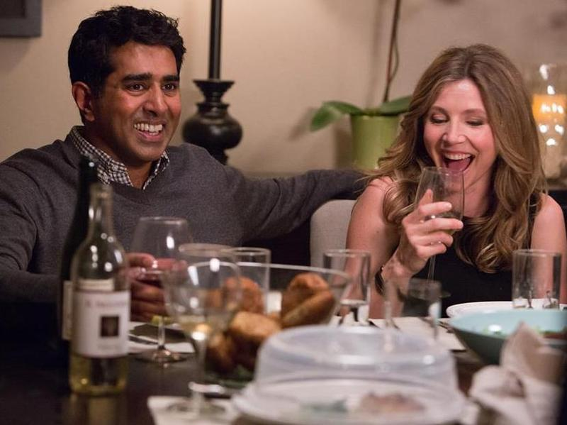 Jay Chandrasekhar and Sarah Chalke are a married couple in the new Amazon Studios pilot <em>Really</em>.