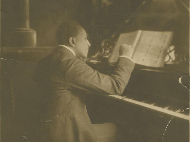 Harry Lawrence Freeman, the Harlem Renaissance composer of the opera <em>Voodoo. </em>