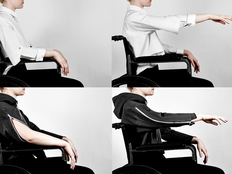 parsons school of design graduate lucy jones created seated design a collection of clothing for