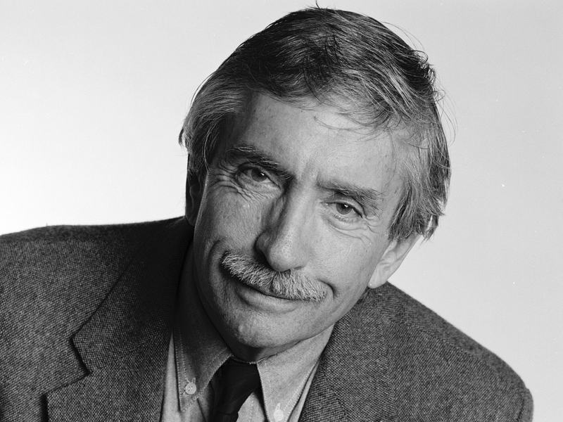 Albee, shown here in 1995, won Pulitzer Prizes for <em>A Delicate Balance, Seascape</em> and <em>Three Tall Women</em> and Tony awards for <em>Who's Afraid of Virginia Woolf?</em> and <em>The Goat, or Who Is Sylvia?</em>