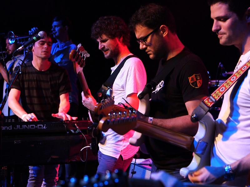 Snarky Puppy performs live in Dallas, Texas.