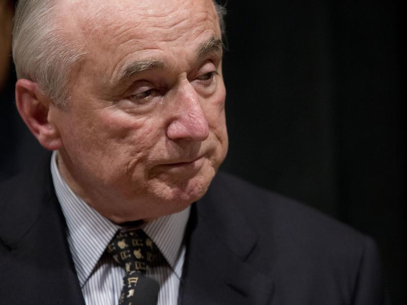 New York City Police Department Commissioner William Bratton in January 2016.