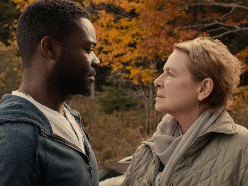 Sherwin (David Oyelowo) and Lucinda (Dianne Wiest) in <em>Five Nights In Maine.</em>