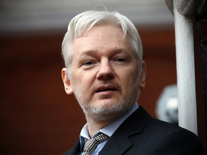 WikiLeaks founder Julian Assange, pictured in February on the balcony of the Ecuadorean Embassy in London, where he has lived for four years to avoid extradition to Sweden.