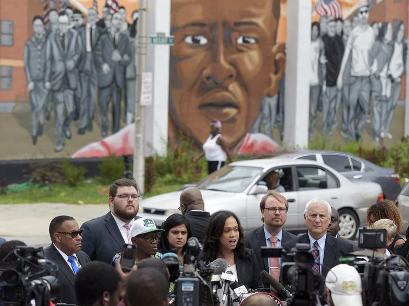Last month, Marilyn Mosby, Baltimore's chief prosecutor, announced she was dropping the remaining charges against the three Baltimore police officers who were still awaiting trial in Freddie Gray's death in Baltimore. The Gray case set off a wave of protests and unrest in Baltimore.