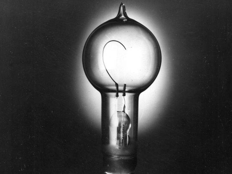Thomas Edison's incandescent lightbulb relied on DC electricity, while George Westinghouse's innovations relied on AC power.
