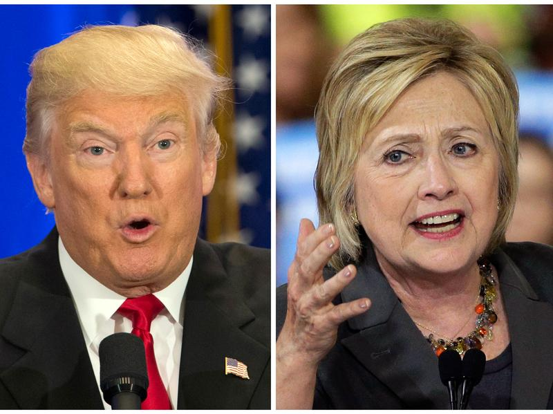 Donald Trump, left, and Hillary Clinton, right, delivered competing economic speeches this week.