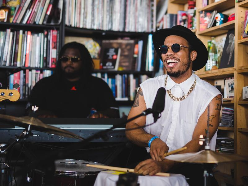 Tiny Desk Concert with Anderson .Paak & The Free Nationals.