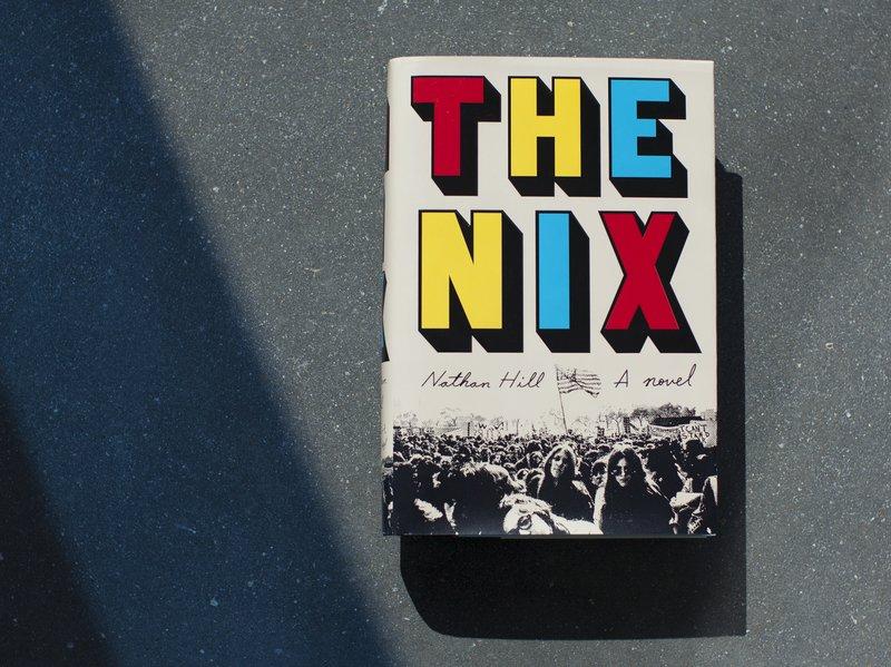 <em>The Nix</em> by Nathan Hill (Emily Bogle/NPR)