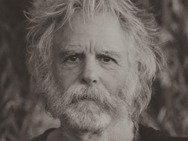 Bob Weir on the cover of <em>Blue Mountain</em>, his first album in 10 years.