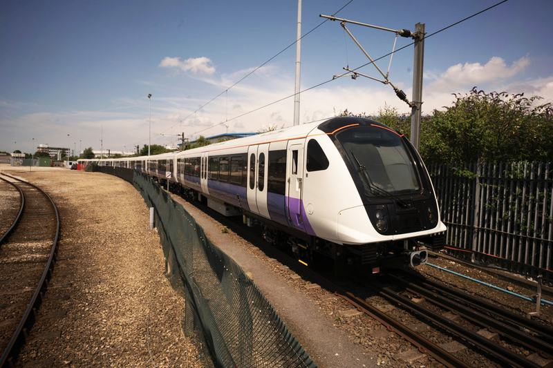 One of the new trains introduced to London's transportation system. (Courtesy Transport for London)