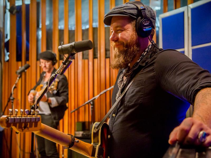 Nathaniel Rateliff & The Night Sweats perform live for KCRW's <em>Morning Becomes Eclectic</em>.