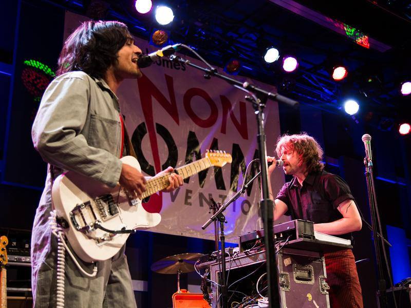 Yeasayer performs live at the 2016 Non-COMMvention in Philadelphia.