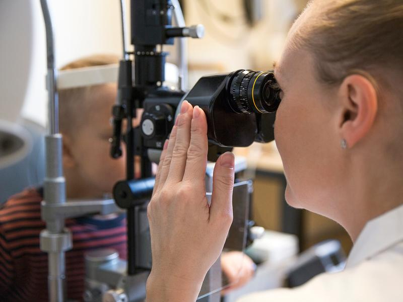Timely eye exams for kids can help prevent lifelong vision problems.