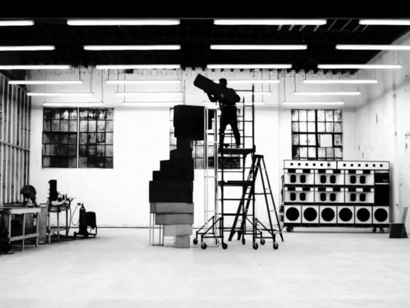 A still from Frank Ocean's <em>Endless</em> visual album.