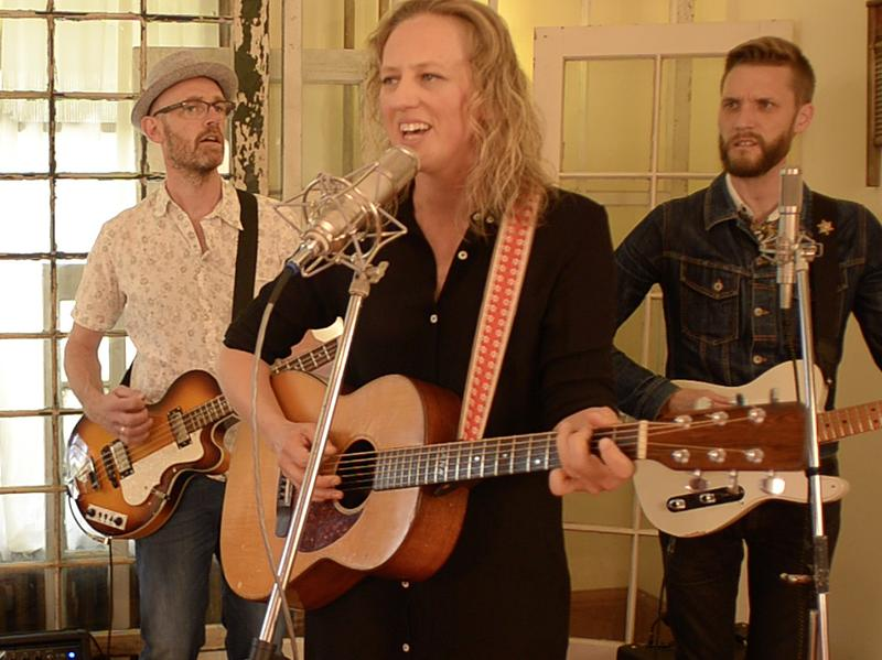 Ana Egge & The Sentimentals perform live in the studio for Folk Alley.