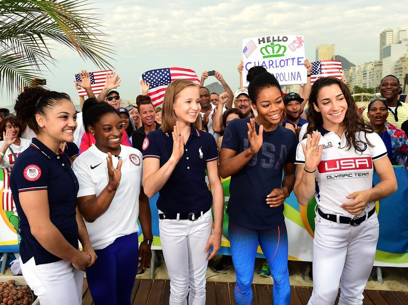 "Members of the ""Final Five"" — U.S. gymnasts Laurie Hernandez, Simone Biles, Madison Kocian, Gabby Douglas and Aly Raisman — will go on tour together when they return to the U.S."