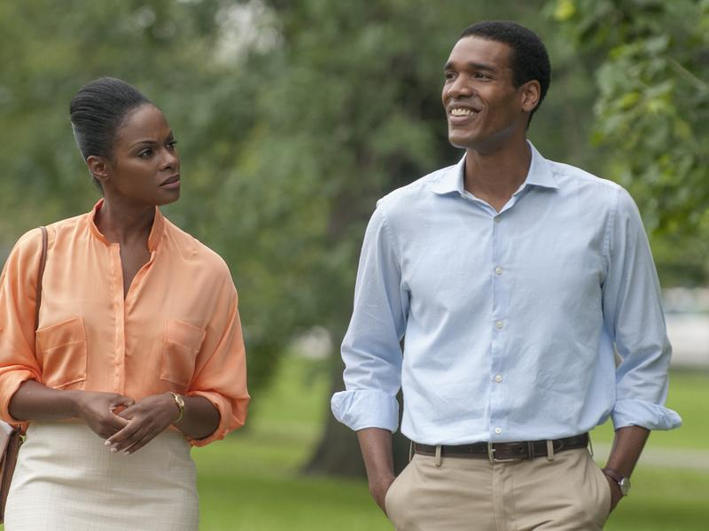 In <em>Southside With You</em>, Michelle Robinson (Tika Sumpter) and Barack Obama (Parker Sawyers) embark on a long first date.