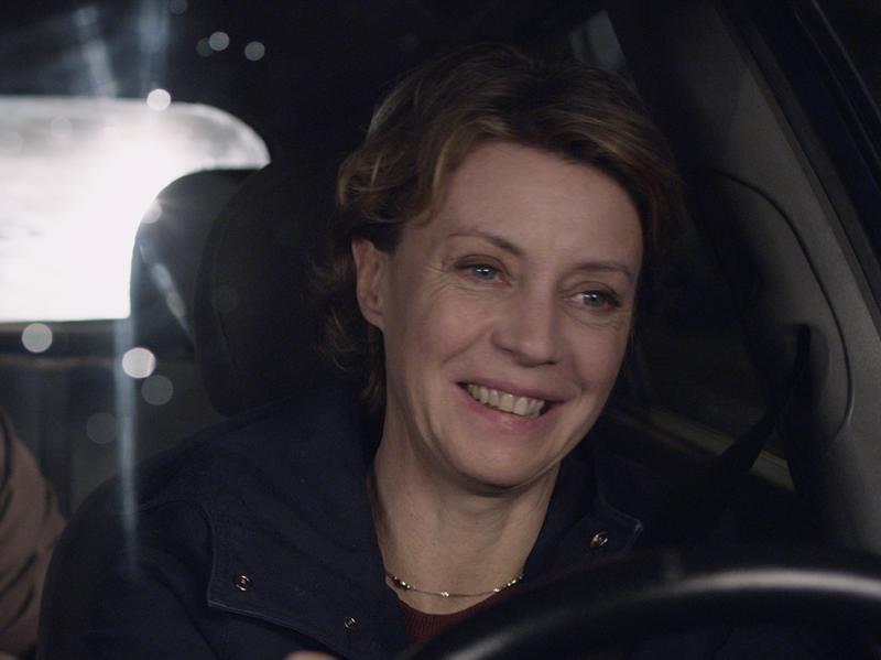 Beatrice Mancini, Stefano Abbati and Margherita Buy in <em>Mia Madre.</em>