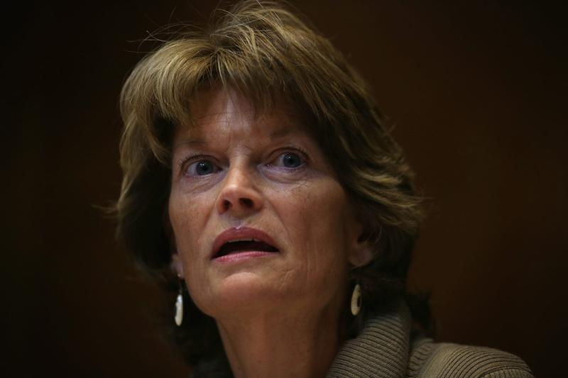 U.S. Sen. Lisa Murkowski (R-AK) speaks during a hearing  on Jan. 8, 2015 on Capitol Hill in Washington D.C. (Alex Wong/Getty Images)