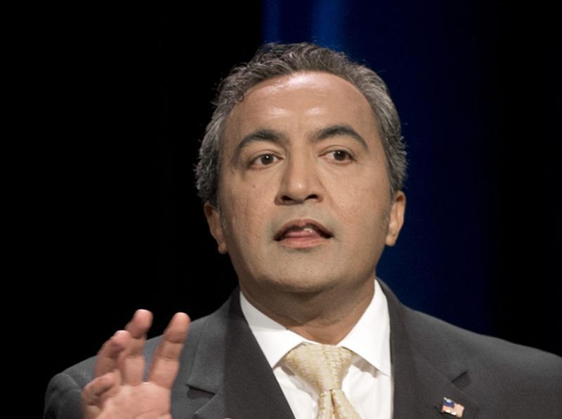 In this Oct. 8, 2014 file photo, incumbent Rep. Ami Bera, D-Calif., takes part in a debate in Sacramento, California.(Jose Luis Villegas/The Sacramento Bee via AP, Pool)