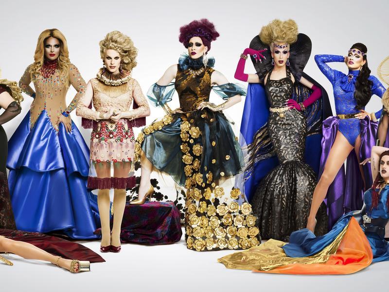 Behold the assembled contestants of <em>RuPaul's Drag Race All Stars</em>, Season 2.