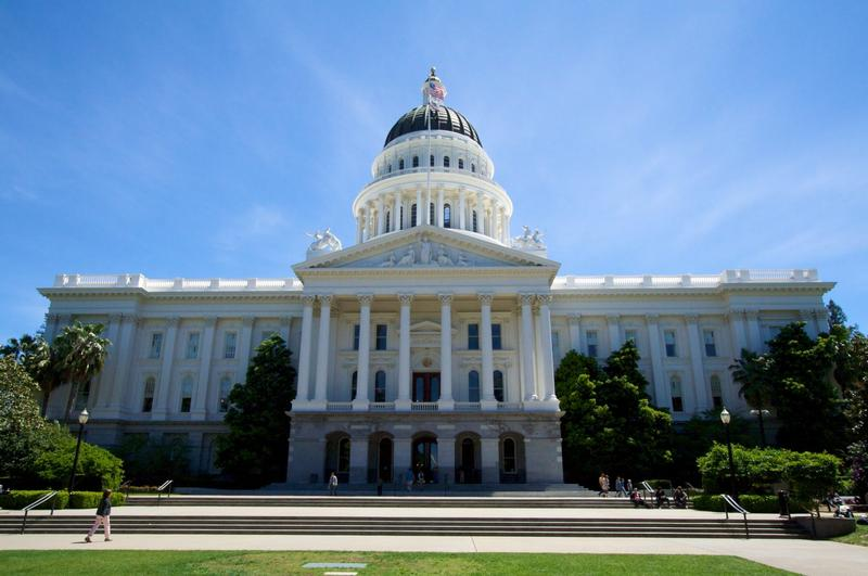 The California State Capitol in Sacramento, California. (Mathieu Thouvenin/Flickr)