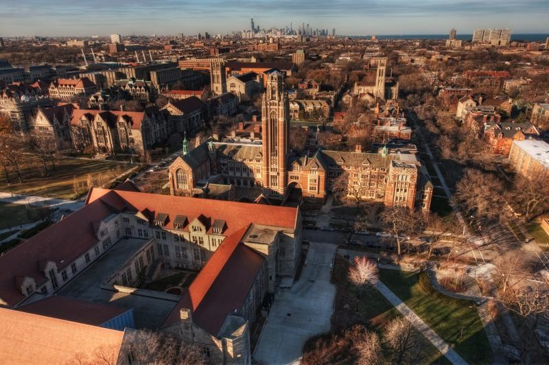 A view overlooking the University of Chicago in November 2010. (kern.justin/Flickr)