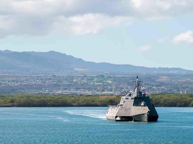 When the littoral combat ship USS Coronado set sail from Pearl Harbor for a planned deployment across the Pacific, it suffered engine problems and had to turn back. The Navy is struggling to get its new class of warships to work as planned.