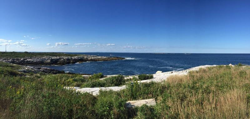 The coast of Appledore Island, the largest of the Isles of Shoals off the coast of Maine. (Courtesy Amy Sherwood)
