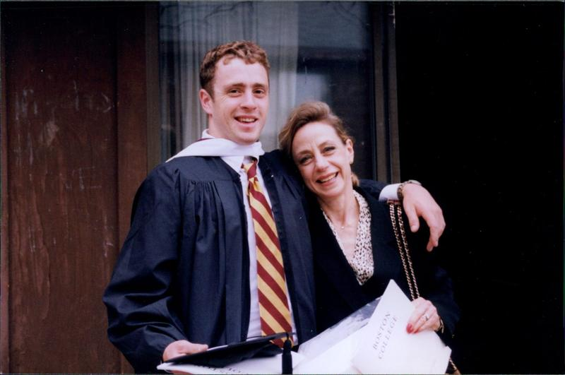 Welles Crowther at his graduation from Boston College in 1999. (Courtesy of The Crowther Family)
