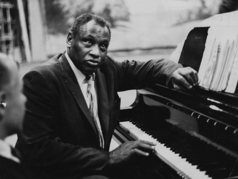 """Actor and singer Paul Robeson is among the artists featured on """"Pioneers Of African-American Cinema."""" (Keystone Features/Hulton Archive/Getty Images)"""