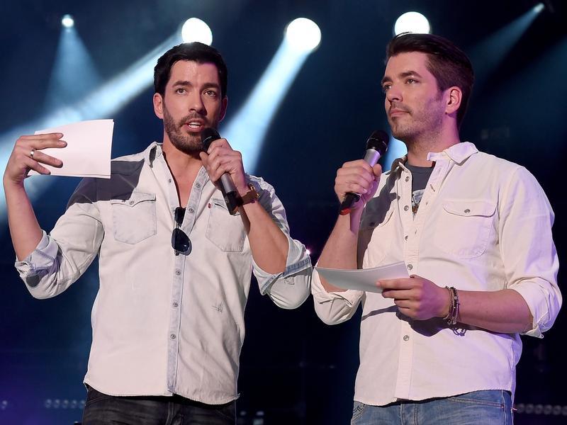 Hosts Jonathan Scott and Drew Scott of HGTV's <em>Property Brothers</em> speak onstage during CMA Festival on June 10, 2016.
