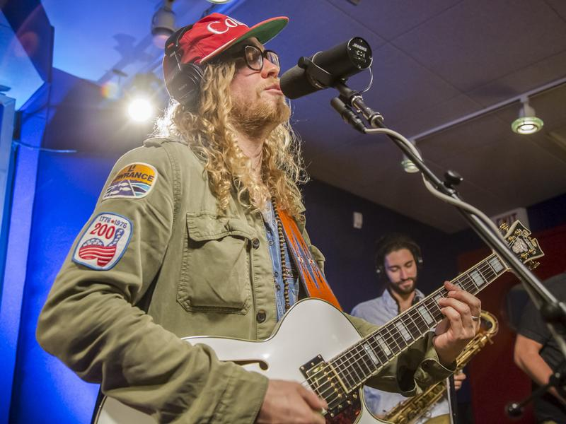 Allen Stone performs live in the studio for KCRW's <em>Morning Becomes Eclectic</em>.